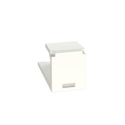 Inserto cieco per modulo Mini-Com 1 porta bianco