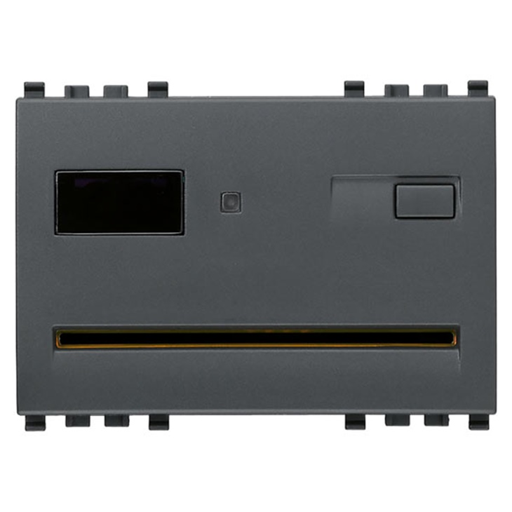 Lettore/programm. smart card BUS grigio