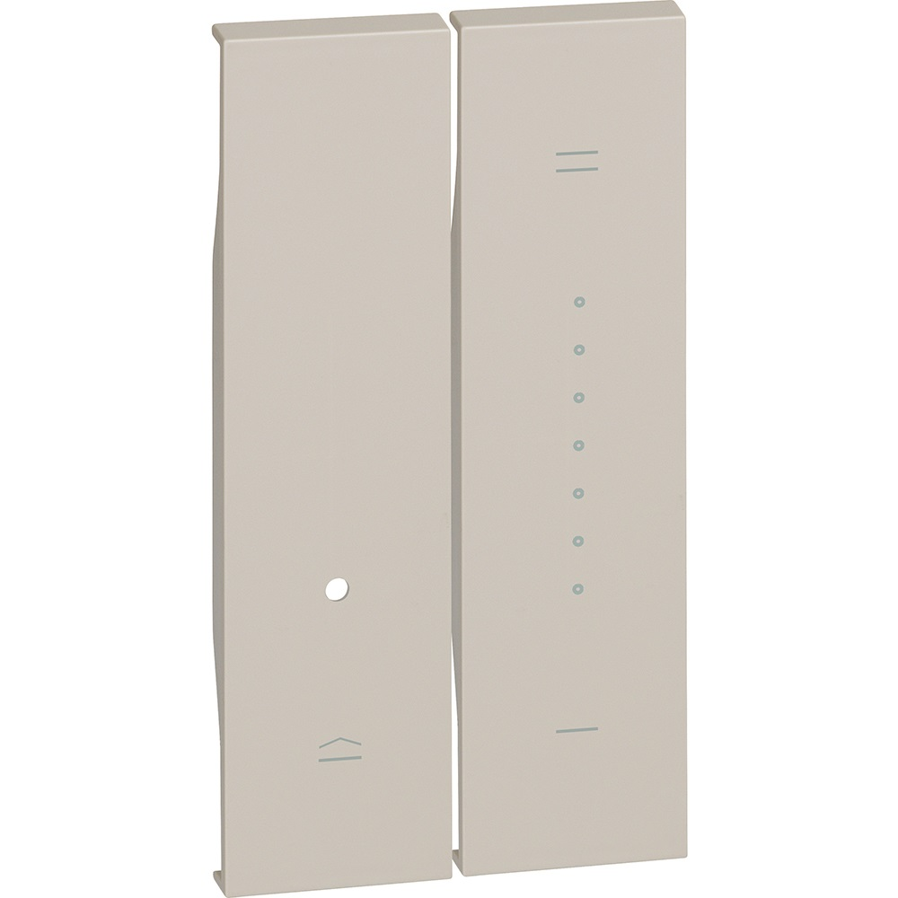 Cover Bticino Living Now Dimmer Sabbia 2M