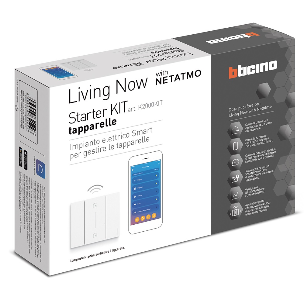 Starter Kit Tapparelle Bticino Living Now