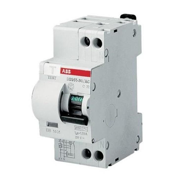 Interruttore Differenziale Magnetotermico ABB C16 6KA 1P+N AC