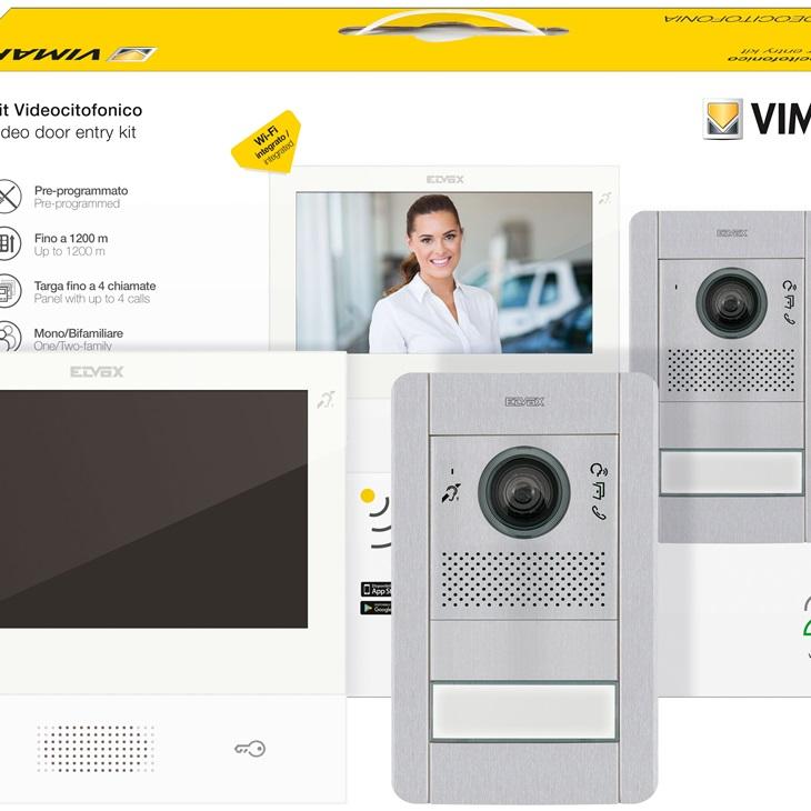 Kit Videocitofonico Monofamigliare TAB 7S Wifi