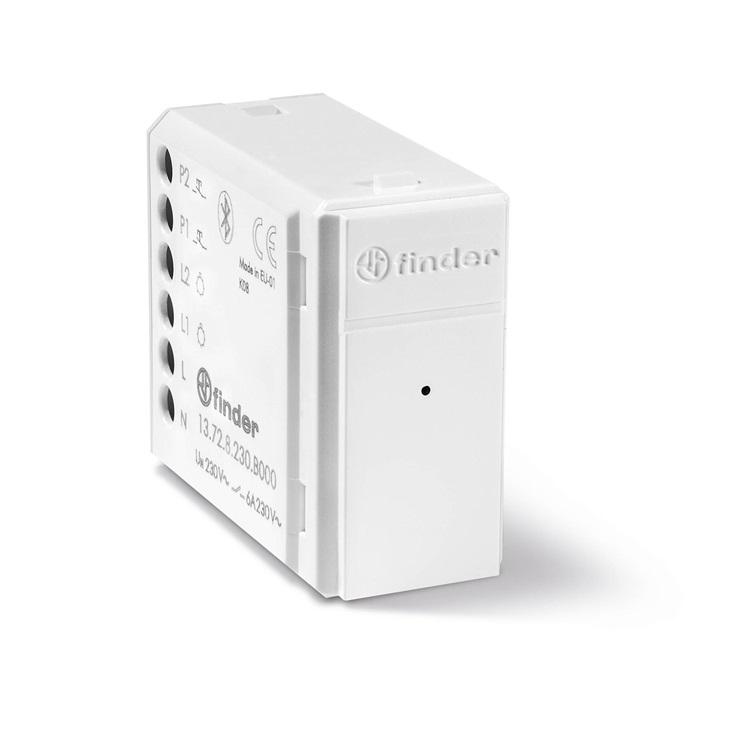 Relè Multifunzione Bluetooth Con 2 Canali Bianco