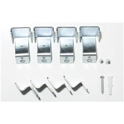 Accessorio di superficie con staffe per pannello 60X60