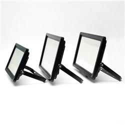 Proiettore LED Ultrasottile 150W Bianco Neutro apertura 120º  finitura Nera