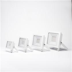 Proiettore LED Ultrasottile 30W Bianco Neutro apertura 120º  finitura Bianca
